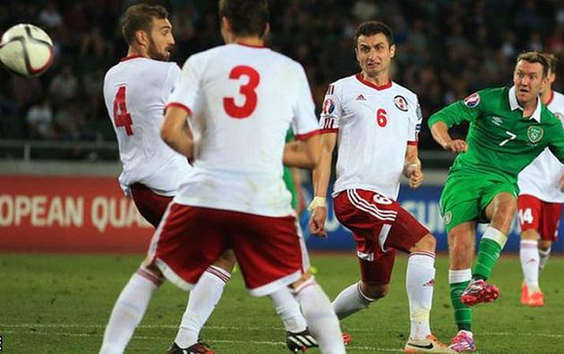 REPUBLIK IRLANDIA MEMENANGKAN 1-0 ATAS GEORGIA