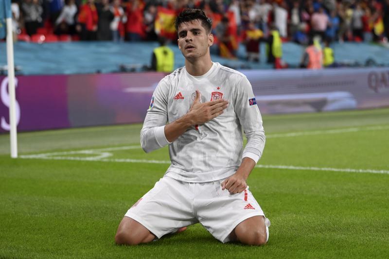 Morata Selalu Disalahkan atas Kekalahan Spanyol di Euro 2020